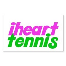 iheart tennis Decal