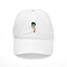 FOOTBALL *13* {green} Baseball Cap