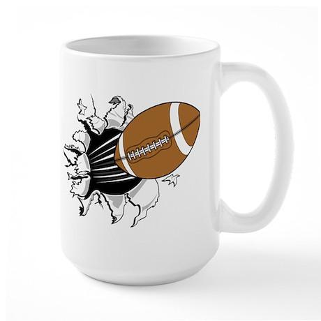 FOOTBALL *14* Large Mug