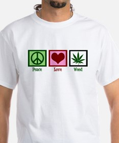 Peace Love Weed Shirt