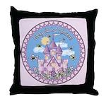 Princess Castle Throw Pillow