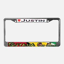 Cute Georgetown License Plate Frame