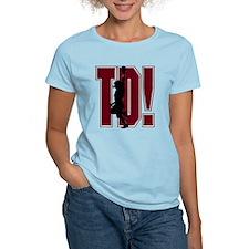 FOOTBALL *21* {crimson} T-Shirt