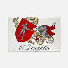 O'Loughlin Family Shield Rectangle Magnet
