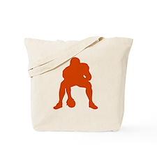 FOOTBALL *23* {orange} Tote Bag