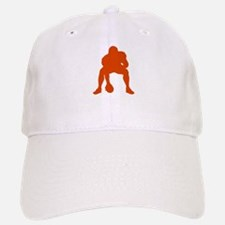 FOOTBALL *23* {orange} Baseball Baseball Cap