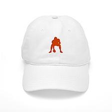 FOOTBALL *23* {orange} Baseball Cap