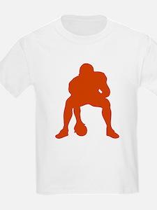 FOOTBALL *23* {orange} T-Shirt