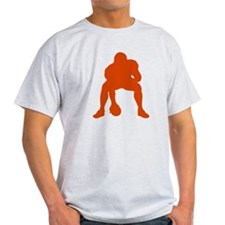 FOOTBALL *23* {orange} T-Shirt
