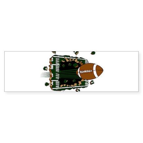 FOOTBALL *24* {green} Sticker (Bumper)
