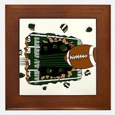 FOOTBALL *24* {green} Framed Tile