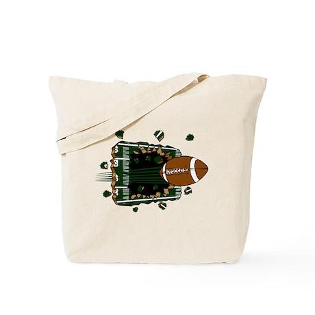 FOOTBALL *24* {green} Tote Bag