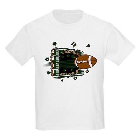 FOOTBALL *24* {green} Kids Light T-Shirt