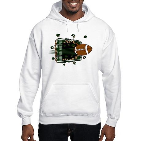 FOOTBALL *24* {green} Hooded Sweatshirt