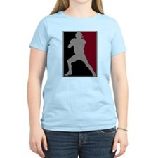 FOOTBALL *26* {crimson/blk/gr T-Shirt