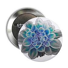 "Cute Artistic flower 2.25"" Button"