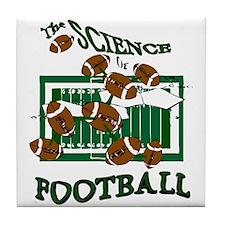 FOOTBALL *28* {green} Tile Coaster