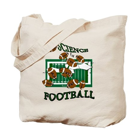 FOOTBALL *28* {green} Tote Bag
