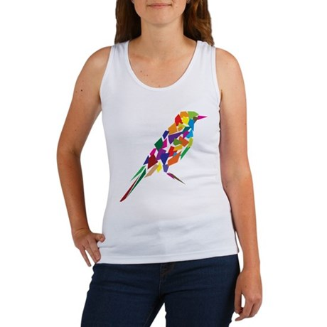 Abstract Bird Women's Tank Top