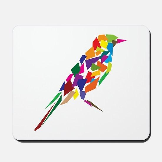 Abstract Bird Mousepad