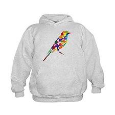 Abstract Bird Hoodie