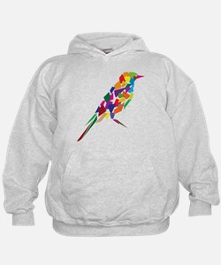 Abstract Bird Hoodie