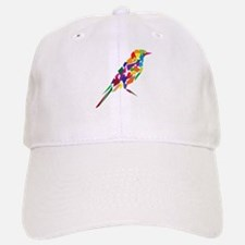 Abstract Bird Baseball Baseball Cap