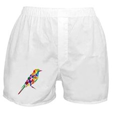 Abstract Bird Boxer Shorts