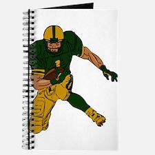FOOTBALL *29* {green/gold} Journal