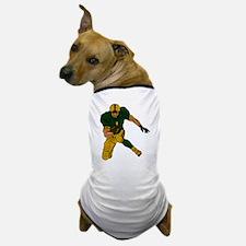 FOOTBALL *29* {green/gold} Dog T-Shirt