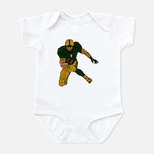 FOOTBALL *29* {green/gold} Infant Bodysuit