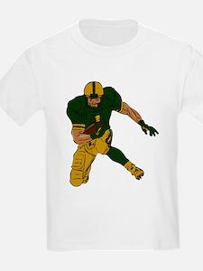 FOOTBALL *29* {green/gold} T-Shirt