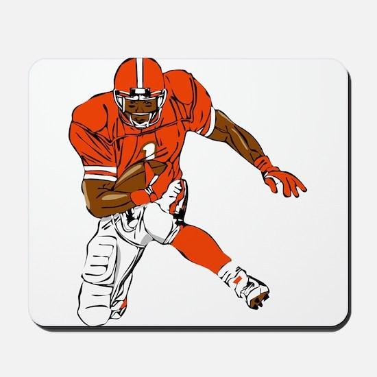 FOOTBALL *29* {orange} Mousepad