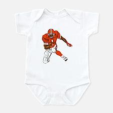 FOOTBALL *29* {orange} Infant Bodysuit