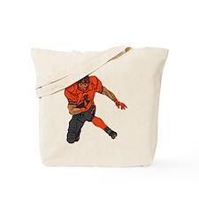 FOOTBALL *29* {orange/gray} Tote Bag