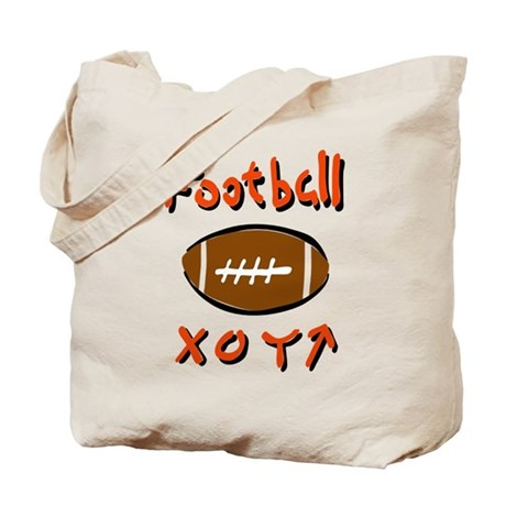 FOOTBALL *33* {orange} Tote Bag