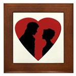 Jane Austen PP3 Framed Tile