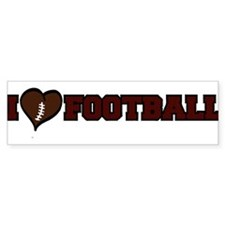 FOOTBALL *38* {crimson} Bumper Sticker
