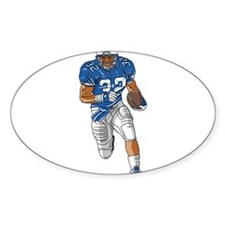 FOOTBALL *39* {blue} Decal