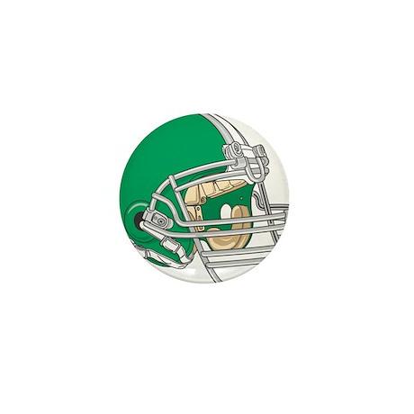 HELMET *4* {green} Mini Button (100 pack)