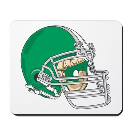 HELMET *4* {green} Mousepad