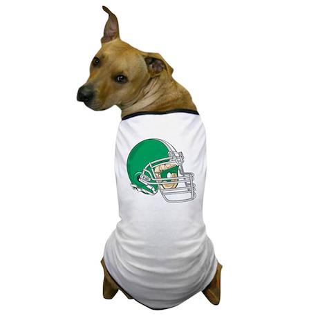 HELMET *4* {green} Dog T-Shirt