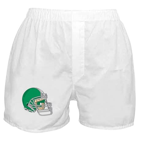 HELMET *4* {green} Boxer Shorts