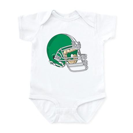 HELMET *4* {green} Infant Bodysuit