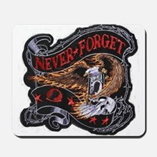 pow/mia never again Mousepad