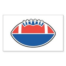 FOOTBALL *36* {red/white/blue Decal