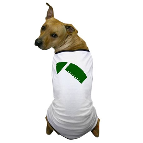 FOOTBALL *1* {green/white} Dog T-Shirt