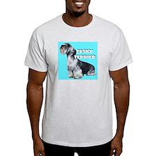 Cesky Terrier portrait Ash Grey T-Shirt