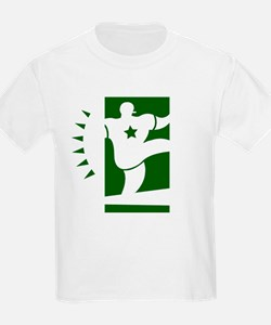 FOOTBALL *44* {green/white} T-Shirt