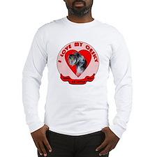 Cesky terrier Love Long Sleeve T-Shirt
